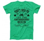 Vintage Style Distress Heather Irish Green Paddys Irish Pub T-Shirt ST Patricks Day Ireland Pride