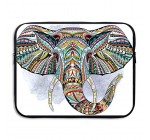 Computer Liner Bag Ethnic Elephant Abstract Psychedelic Science Chemistry Laptop Bag Liner Bag Laptop Computer Sleeve 15 Inch Tablet Case Computer Accessories For Macbook Air Pro