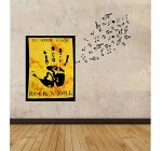 ICC, Rock And Roll Posters, Concert Posters, Music Quote Poster, Rock N Roll, Music Poster, Rock Decor, Concert Flag, Rock N Roll Tapestry, Rock Posters, Small Poster, 30×40 In (yellow)
