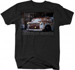 OS Gear American Muscle Chevy Patina Pickup Truck 3100 Rusted Vintage Tshirt