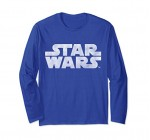 Star Wars Simple Vintage Logo Graphic Long Sleeve Tee