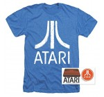 Atari Video Game Retro Logo Vintage Gaming Console T Shirt & Stickers