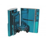 Sony PlayStation 3 Skin (PS3) – NEW – SKY CHROME MIRROR system skins faceplate decal mod Reviews