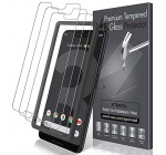 LK [3 Pack] Screen Protector for Google Pixel 3 XL, [Tempered Glass][Case Friendly] Double Defence Technology [Alignment Frame Easy Installation] with Lifetime Replacement Warranty