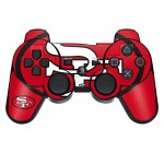 Skinit San Francisco 49ers Retro Logo PS3 Dual Shock Wireless Controller Skin – Officially Licensed NFL Gaming Decal – Ultra Thin, Lightweight Vinyl Decal Protection