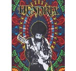 Baga Imports Hippie Bohemian Jimi Hendrix Poster Wall Tapestry (30 x 40 inches) (Poster, Hendrix)