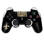 New Orleans Saints PS3 Dual Shock wireless controller Skin – New Orleans Saints Team Motto | NFL X Skinit Skin