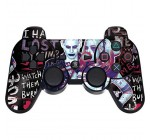 Skinit Decal Gaming Skin for PS3 Dual Shock Wireless Controller – Officially Licensed Warner Bros Harley Quinn Madly in Love Design