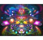 Trippy Tapestry | Psychedelic Wall Hanging | Trippy Animal | DMT Art | Dimitri The Frog