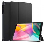ZtotopCase for Samsung Galaxy Tab A 10.1 2019, Ultra Slim Lightweight Trifold Stand Smart Folio Case Hard Cover for Samsung Tab A 10.1 Inch Tablet SM-T510/SM-T515 2019 Release – Black Reviews