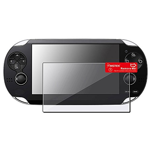Insten 3 x Reusable Crystal Clear Screen Protector Compatible With Sony Playstation PS vita / PS Vita 2000
