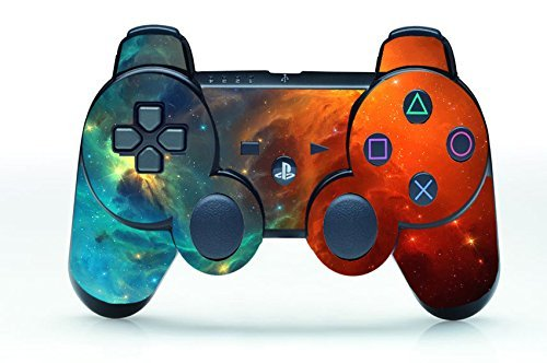 UUShop Cosmic Nebular Vinyl Skin Decal Cover Wrap for Playstation 3 PS3 Controller