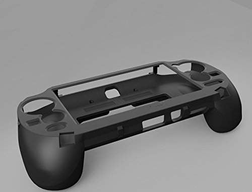 Gdlhsp Upgrade L2 R2 Trigger Grips Handle Holder Gaming Case Joypad for Playstation PS Vita 1000 PSV 1000 (black)