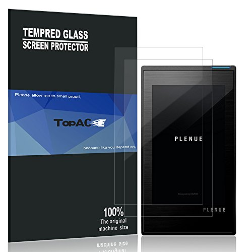 Cowon P1 Screen Protector, TopACE 9H Hardness [Case Friendly][Anti-Scratch][Bubble Free] Tempered Glass for Cowon Plenue 1 (2 Pack)