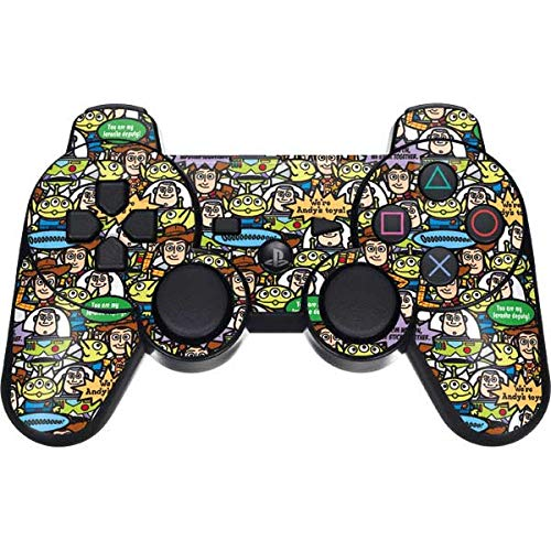Skinit Toy Story Characters PS3 Dual Shock Wireless Controller Skin – Officially Licensed Disney Gaming Decal – Ultra Thin, Lightweight Vinyl Decal Protection