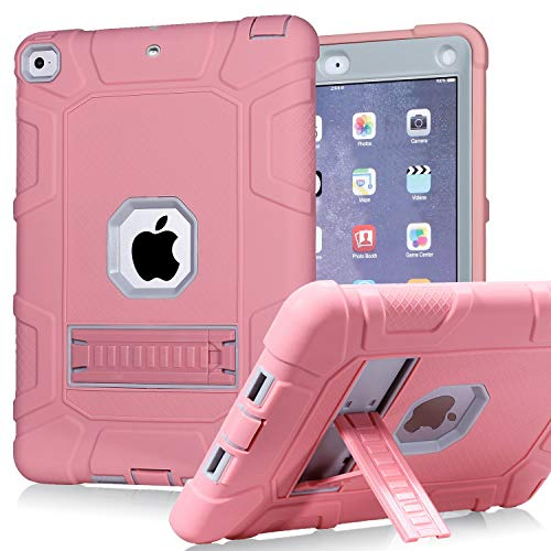 PPSHA iPad 6th Generation Cases, iPad 2018 Case, iPad 9.7 Inch Case,Hybrid Shockproof Rugged Drop Protection Cover Built with Kickstand for New iPad 9.7 inch A1893/A1954/A1822,/A1823 Reviews